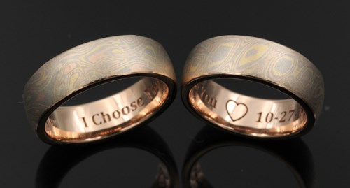modeled engraving inside ring