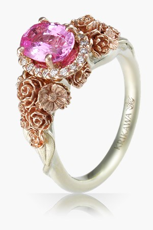 nature zeghani bridal rings details lover engagement