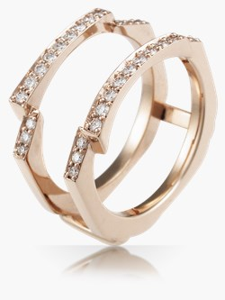 curved wedding rings