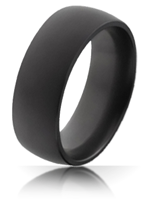 elysium black diamond wedding bands