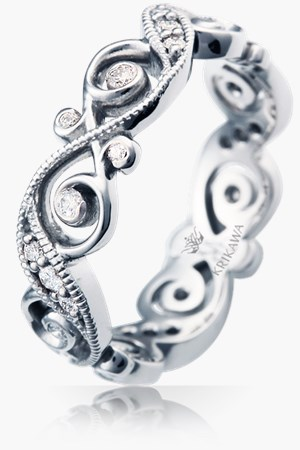 infinity symbol wedding bands - Wedding Ring And Band