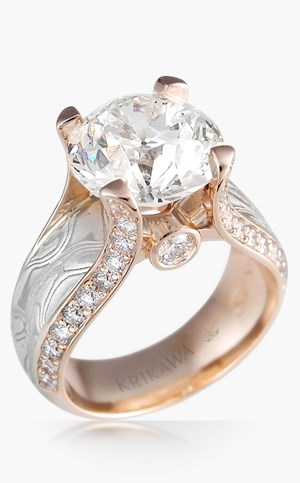 Juicy Light Engagement Ring
