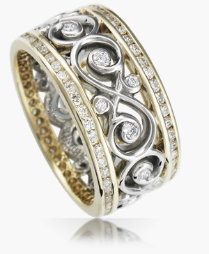 womens diamond rings - Unique Wedding Rings For Women