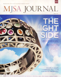 MJSA Journal August 2014 Cover with Krikawa Live! Ring