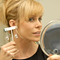 Cheryl Hines with Krikawa Lifedrop Earrings