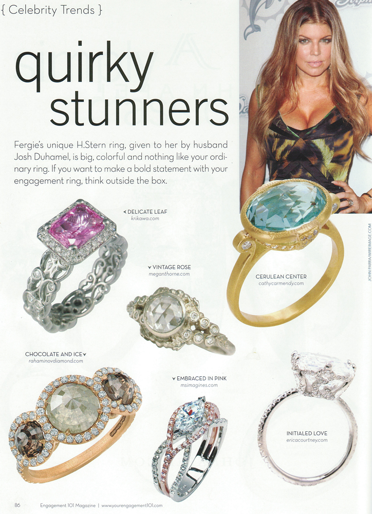 Engagement 101 Magazine 2010 Quirky Stunners Feature