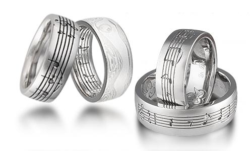Musical Symbol Rings