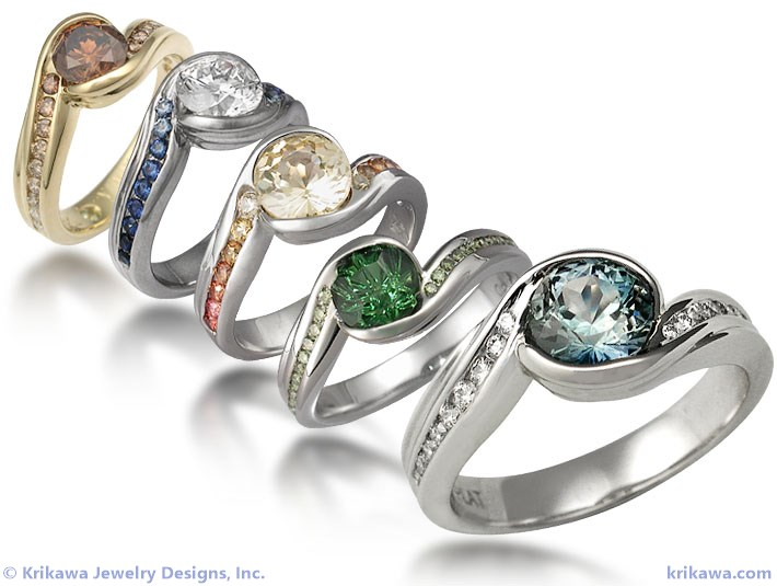 Personalized Engagement Rings
