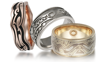 tattoo inspired rings