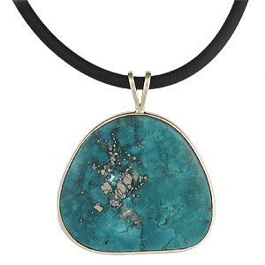 Krikawa pendant with Turquoise
