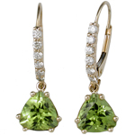 Krikawa Peridot Earrings