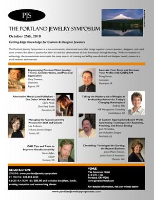 Portland jewelry symposium