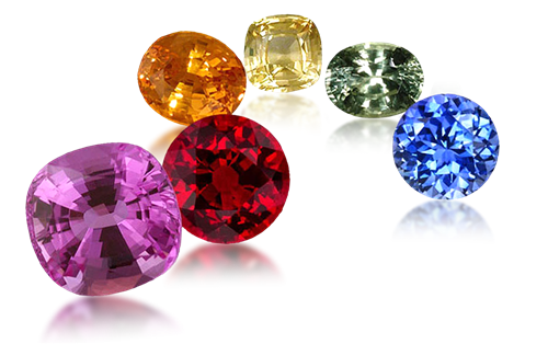 fine top gem quality sapphires