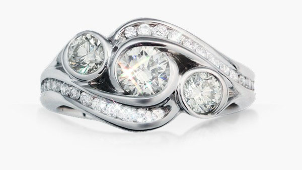 barkev rings unique ring front jewellery engagement diamond s