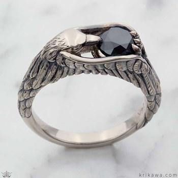 Black Wedding Rings Meaning.Black Diamond Engagement Rings By Krikawa Master Jewelers